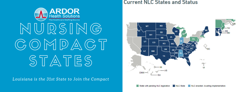 Louisiana Going Compact for Nursing on July 1st!